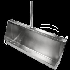 Писсуар Oceanus (Океанус) 2-008.1(L) из нержавеющей стали для ванной комнаты и туалета