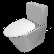 Унитаз Oceanus (Океанус) 1-001.1(P) из нержавеющей стали для ванной комнаты и туалета