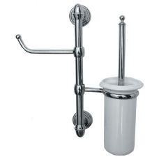 Подвесная стойка Pacini&Saccardi Piantane 5026 с аксессуарами для ванной комнаты или туалета