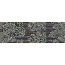 Декор Porcelanite Dos Serie 2210 Decor Lila-Turquesa-Marengo Lineal Garden 22.5*67.5 см для ванной комнаты, кухни, прихожей, квартиры и дома