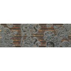 Декор Porcelanite Dos Serie 2210 Decor Moka Lineal Garden 22.5*67.5 см для ванной комнаты, кухни, прихожей, квартиры и дома