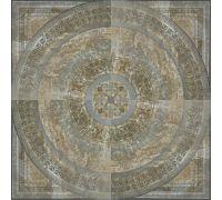 Панно Porcelanite Dos Serie 5012 Roseton Siena 100*100