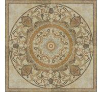 Панно Porcelanite Dos Serie 5016 Roseton Crema Natural 100*100