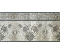 Декор Porcelanite Dos Serie 5018 Cenefa Perla Gris Acero 25*50
