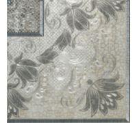 Декор Porcelanite Dos Serie 5018 Taco Perla Gris Acero 25*25