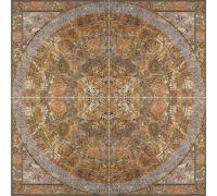 Панно Porcelanite Dos Serie 6509 Roseton Canela 126*126