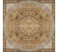 Панно Porcelanite Dos Serie 6509 Roseton Crema 126*126
