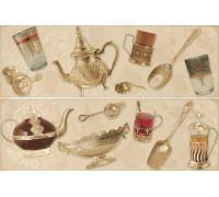 Декор Porcelanite Dos Serie 7015-7016-7017 Composicion Argel II Crema 50*75