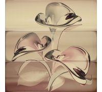 Декор Porcelanite Dos Serie 7015-7016-7017 Composicion Murano III Marron-Moka-Crema 75*75