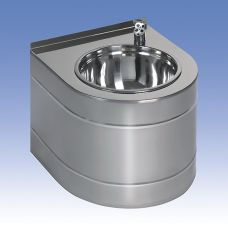 Питьевой фонтан Sanela (Санэла) SLUN 14EB 93142 из нержавеющей стали для ванной комнаты