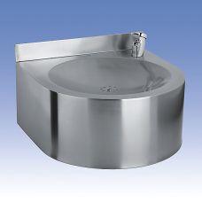 Питьевой фонтан Sanela (Санэла) SLUN 62 93620 из нержавеющей стали для ванной комнаты
