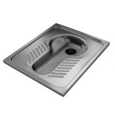 Чаша генуя Senda DP из нержавеющей стали для ванной комнаты и туалета