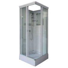 Прямоугольная душевая кабина Serena SE-0302RM 80*80 для ванной комнаты в интернет-магазине сантехники RoyalSan.ru