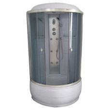 Полукруглая душевая кабина Serena EW-32012G 90*90 для ванной комнаты в интернет-магазине сантехники RoyalSan.ru