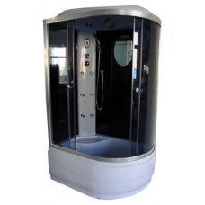 Полукруглая душевая кабина Serena EW-32018G 120*80 для ванной комнаты в интернет-магазине сантехники RoyalSan.ru