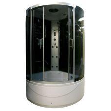 Полукруглая душевая кабина Serena EW-32118G 118*118 для ванной комнаты в интернет-магазине сантехники RoyalSan.ru