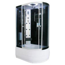 Полукруглая душевая кабина Serena EW-3223G 130*83 для ванной комнаты в интернет-магазине сантехники RoyalSan.ru
