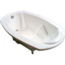Овальная ванна Spn (Спн) Kleopatra/Sea Shell (Клеопатра/Си Шелл) 176*105 см из литого мрамора для ванной комнаты