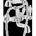 Смеситель Teknobili Antica AT31001CR для ванны и душа