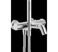 Термостатический смеситель Teknobili Likid LK00010/2CR для ванны