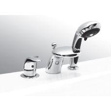 Каскадный смеситель (водопад) Vega (Вега) Cobra Lux (Кобра Люкс) 91А1705125 на 3 отверстия на борт ванны