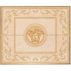 Итальянское панно Versace (Версаче) Venere Composizione Versace Beige 68091 50*60 см для ванной комнаты, кухни, прихожей, квартиры и дома