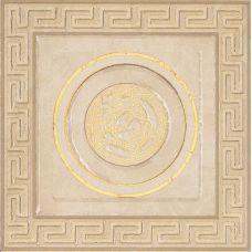 Итальянский керамический декор Versace (Версаче) Venere Tozzetto Geometrica Almond-Beige 17245 15,3*15*3 см для ванной комнаты, кухни, прихожей, квартиры и дома