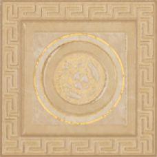 Итальянский керамический декор Versace (Версаче) Venere Tozzetto Geometrica Oro 17246 15,3*15*3 см для ванной комнаты, кухни, прихожей, квартиры и дома