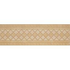Итальянский керамический декор Versace (Версаче) Venere Fascia Geometrica Oro 17241 15,3*50 см для ванной комнаты, кухни, прихожей, квартиры и дома