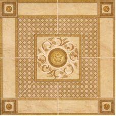Итальянское панно Versace (Версаче) Venere Roseton Oro/Noce 17286 100*100 см для ванной комнаты, кухни, прихожей, квартиры и дома