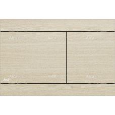 Кнопка управления Alcaplast Flat Wood Fun Oak White для системы инсталляции