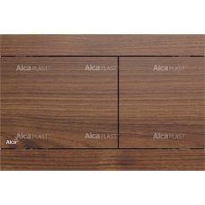 Кнопка управления Alcaplast Flat Wood Fun Teak для системы инсталляции