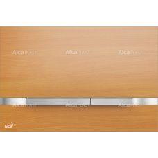 Кнопка управления Alcaplast Flat Wood Stripe Beech для системы инсталляции