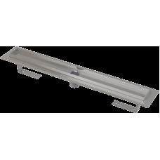 Водоотводящий желоб (душевой трап) Alcaplast APZ2001 55 с окантовкой для ванной комнаты