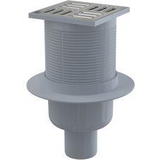 Душевой сливной трап Alcaplast (Алкапласт) APV2 105*105/50 для ванной комнаты