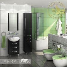 Мебель Акватон Ария 50 Н для ванной комнаты