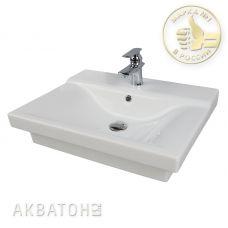 Раковина Акватон Gural 65 для мебели в ванной комнате