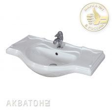 Раковина Акватон (Aquaton) Лаура 85 для мебели в ванной комнате