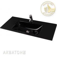 Раковина Акватон Rimini 100 Float Black для мебели в ванной комнате