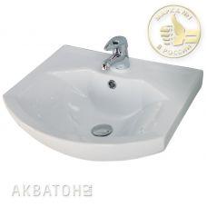 Раковина Акватон (Aquaton) Смайл (Smile) 50 для мебели в ванной комнате