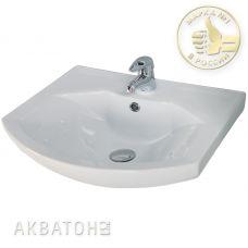 Раковина Акватон (Aquaton) Смайл (Smile) 65 для мебели в ванной комнате