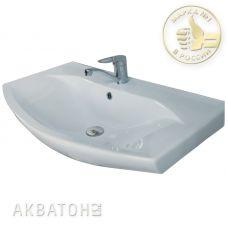 Раковина Акватон (Aquaton) Смайл (Smile) 80 для мебели в ванной комнате