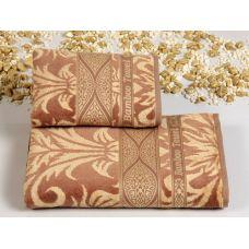 Комплект бамбуковых полотенец Cestepe (Честепе) Bamboo Gold Jakar (Бамбу Голд Джакар) для ванной комнаты