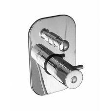 Термостатический смеситель для ванны и душа Rav-Slezak (Рав-Слезак) Dunaj (Дунай) DT286.5