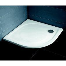 Полукруглый душевой поддон Ravak Galaxy PRO Elipso PRO 90*90 для душевой шторки в ванной комнате