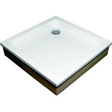 Прямоугольный душевой поддон Ravak Kaskada Angela EX 80*80 для душевой шторки в ванной комнате