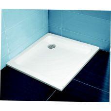 Прямоугольный душевой поддон Ravak Kaskada Angela LA 90*90 для душевой шторки в ванной комнате