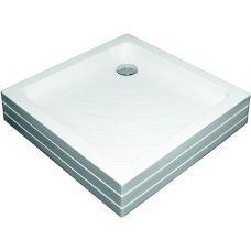 Прямоугольный душевой поддон Ravak Kaskada Angela PU 80*80 для душевой шторки в ванной комнате