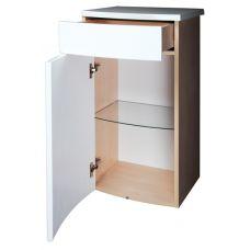 Нижний шкаф Ravak Uni PS с ящиком для ванной комнаты