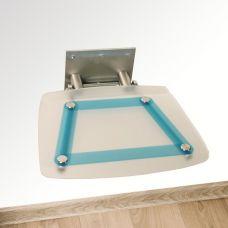 Сидение для душа Ravak (Равак) OVO B (ОВО Б) Decor Blueline B8F0000031 для ванной комнаты